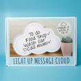 Lampe à message Nuage