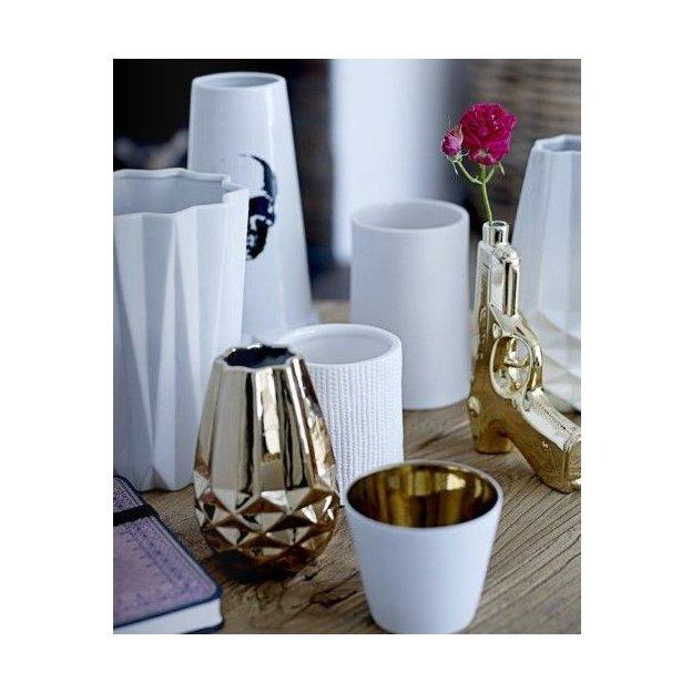 Bloomingville Vase Pistole gold