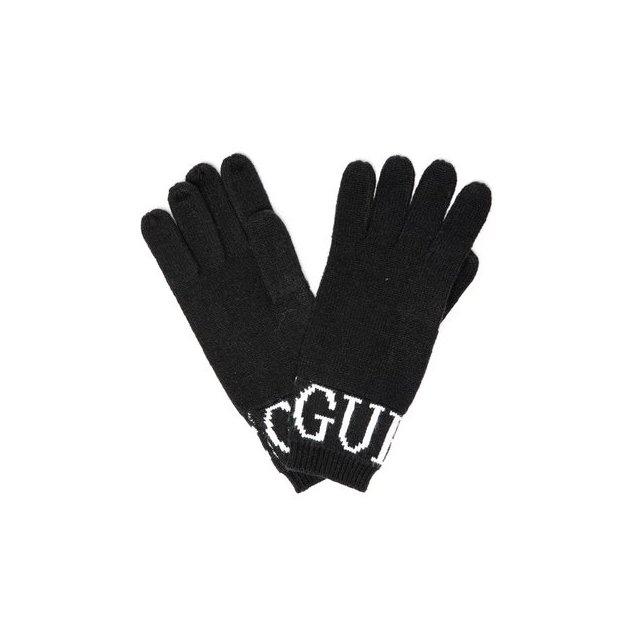 Guess Handschuhe Logo black S