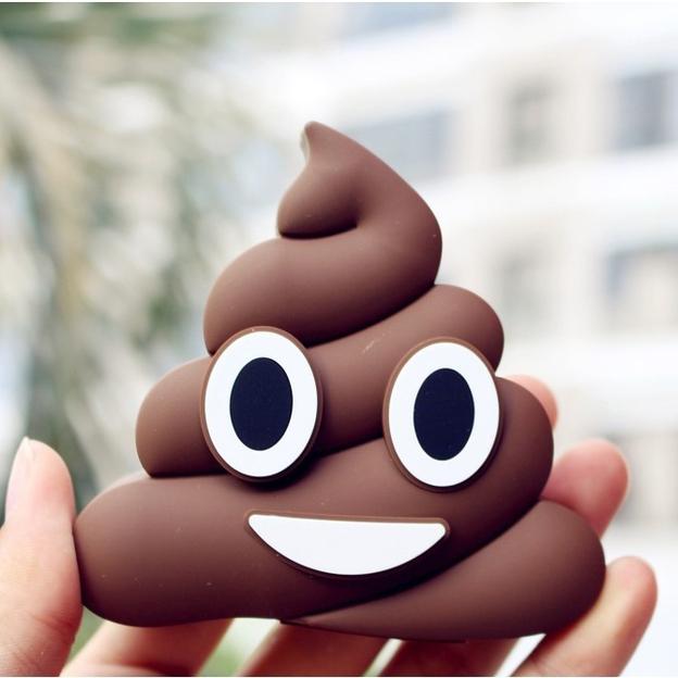 Emoji Powerbank Poo