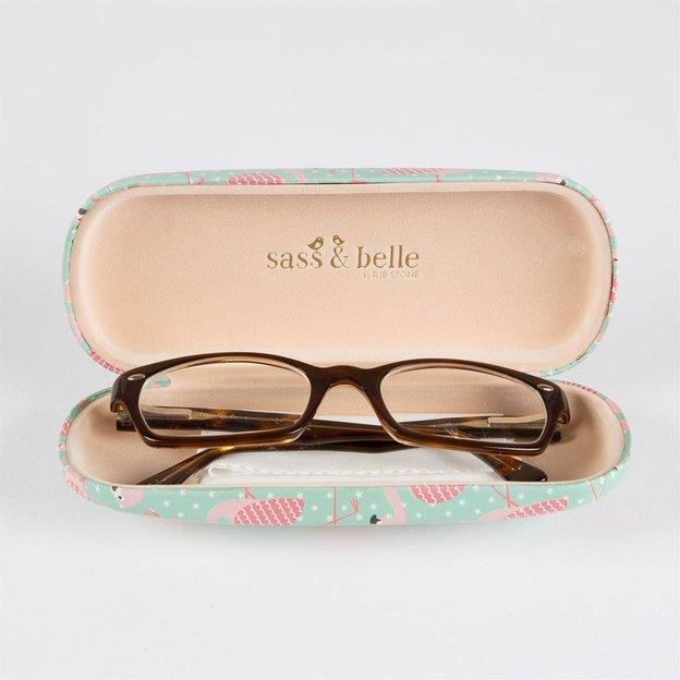 Etui à lunettes Flamant rose