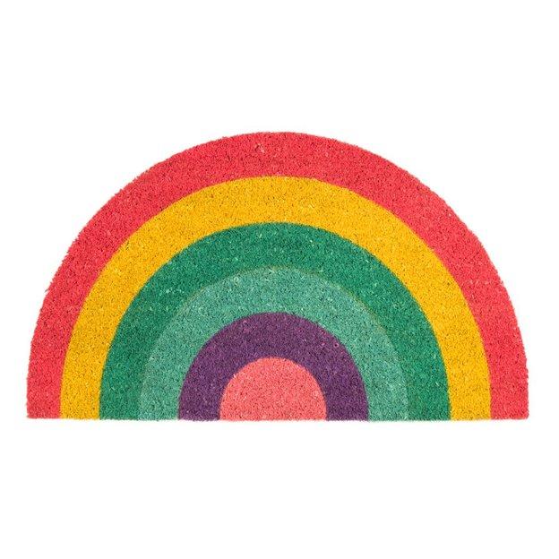 Fussmatte Rainbow