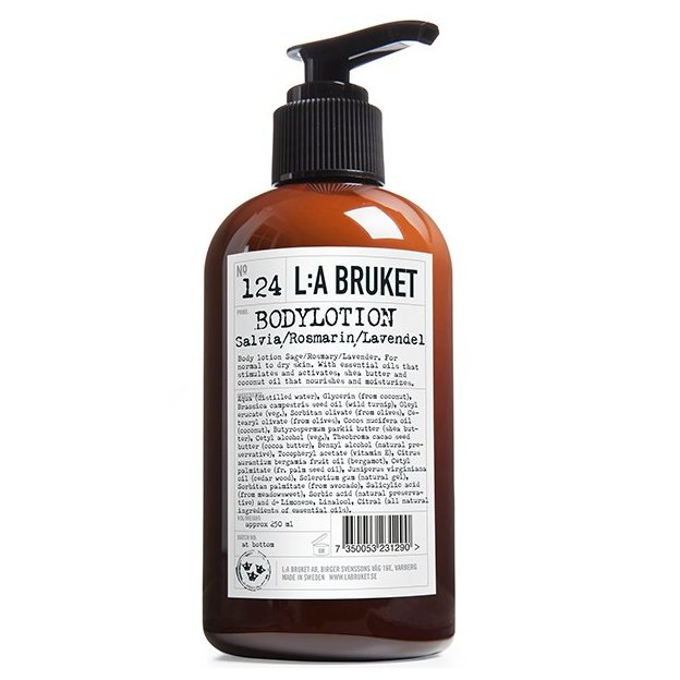 L:A Bruket Bodylotion No.124 Sage Rosemary Lavender 250ml