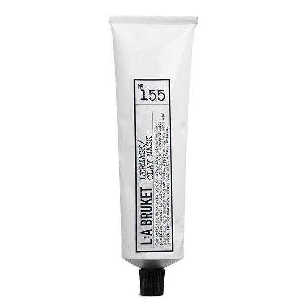 Masque pour le visage L:A Bruket No.155 argile naturel 100 ml