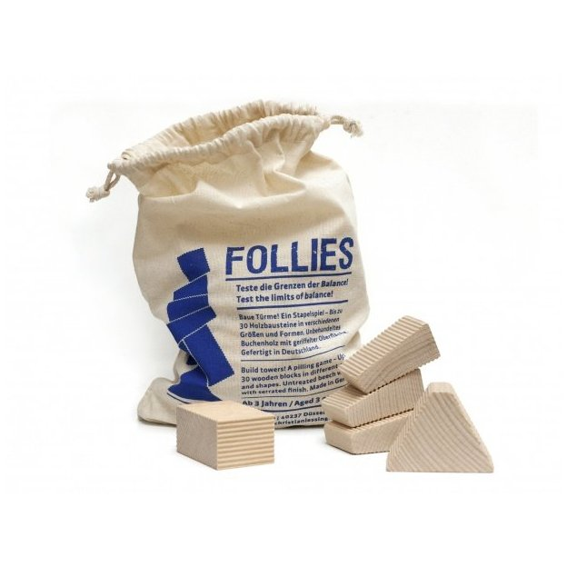 Follies sac - jeu d'empilement