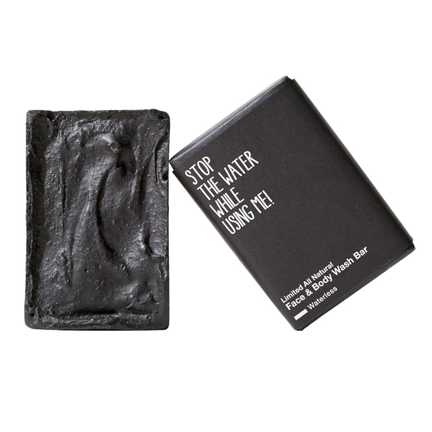 STOP THE WATER WHILE USING ME Seife Face & Body Wash Limited Black Ed.