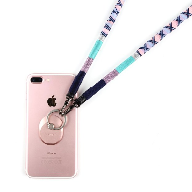 Sangle pour smartphone Happy Nes Pink Bunny