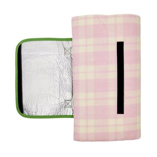 Couverture de pique-nique Rice, rose