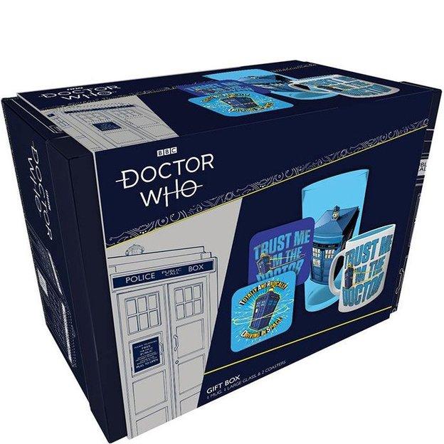 Coffret cadeau Doctor Who Tardis