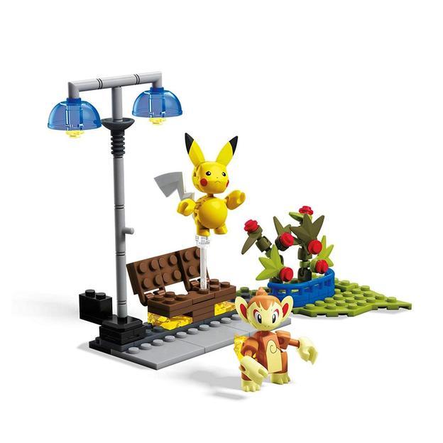 Jeu de construction Pokémon Construx Pikachu Vs. Panflam