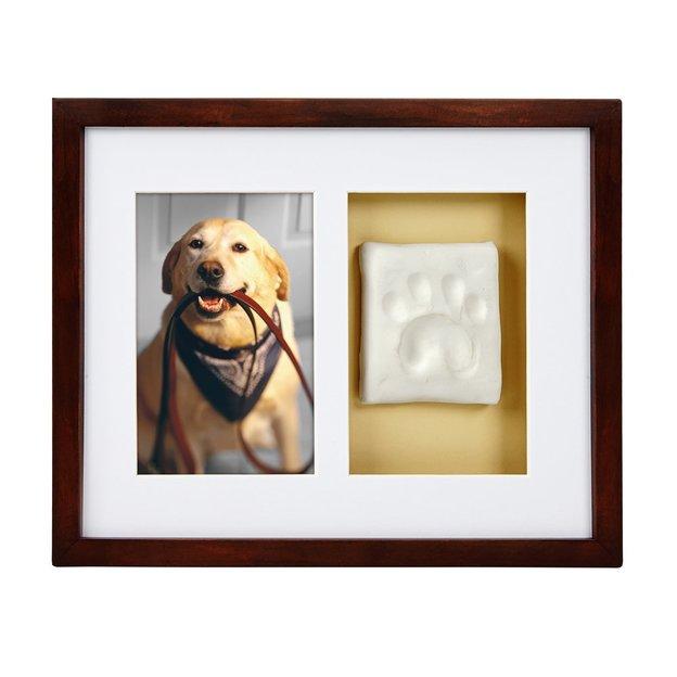 Pawprints Bilderrahmen mit Pfotenabdruck
