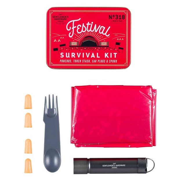 Festival Survival Kit Gentlemen's Hardware