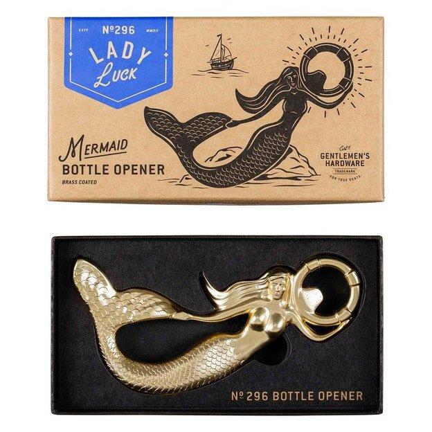 Gentlemen's Hardware Flaschenöffner Meerjungfrau