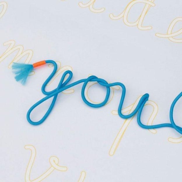 Fil magique turquoise 3 mm à tordre soi-même