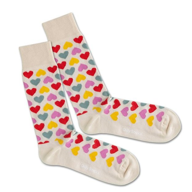 DillySocks Color Of Love 36-40
