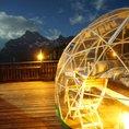 Nuit dans une bulle Bubble Suite Glaris avec Hot Pot