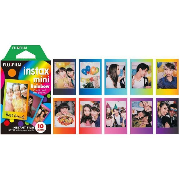 Instax Color Mini Rainbow - 10 films
