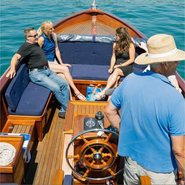 Seebeckenrundfahrt auf dem Zürichsee (9 Personen)