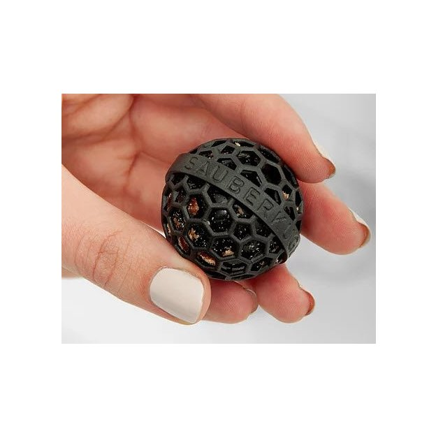 Boule nettoyante noir