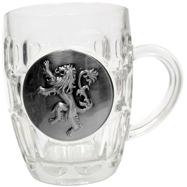 Chope de bière Game of Thrones Lannister, 0,5 l