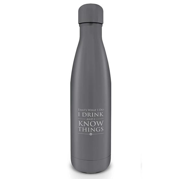 Flasque Game of Thrones I drink and I know things