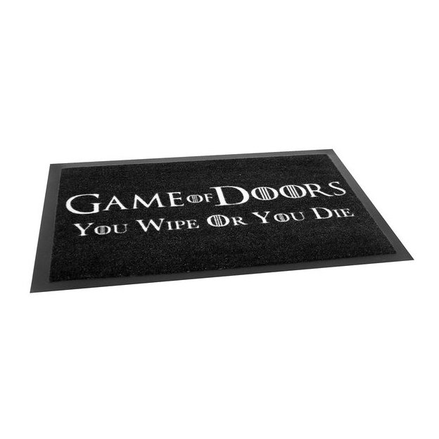 Paillasson Game of Doors You Wipe or You Die