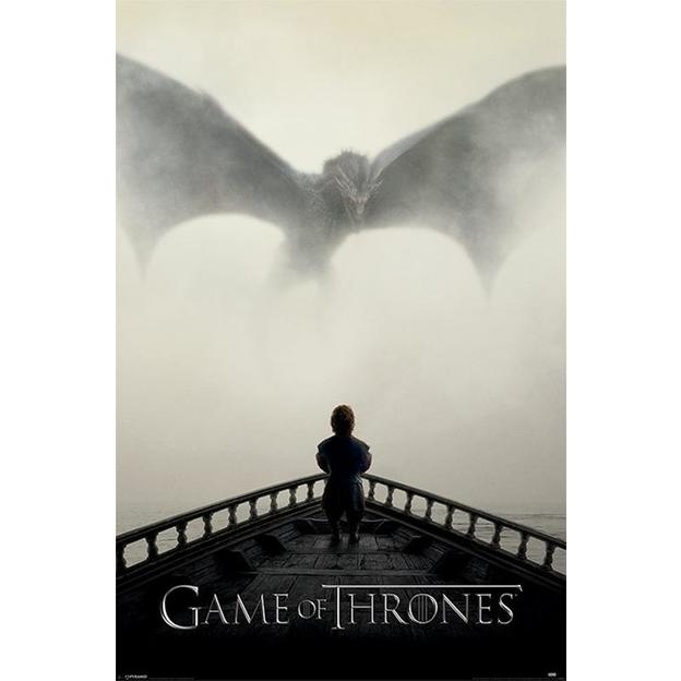 Poster Game of Thrones A Lion & A Dragon