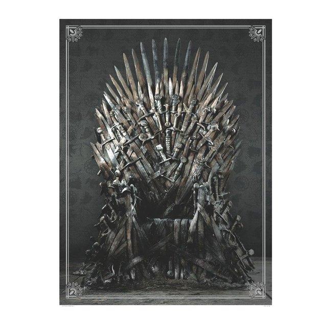 Puzzle Game of Thrones Trône de Fer 1000 pièces