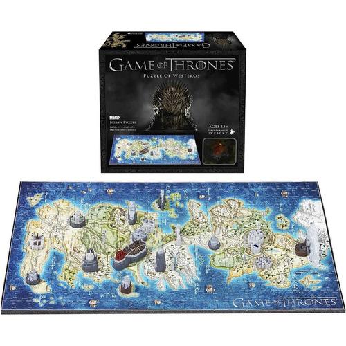 Image of Game of Thrones 3D Puzzle Mini Westeros 340 Teile