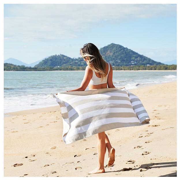 Linge de plage à séchage rapide Bora Bora 200 x 90 cm