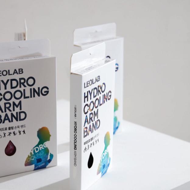 Leolab cooling Halsband, Schwarz, S-M