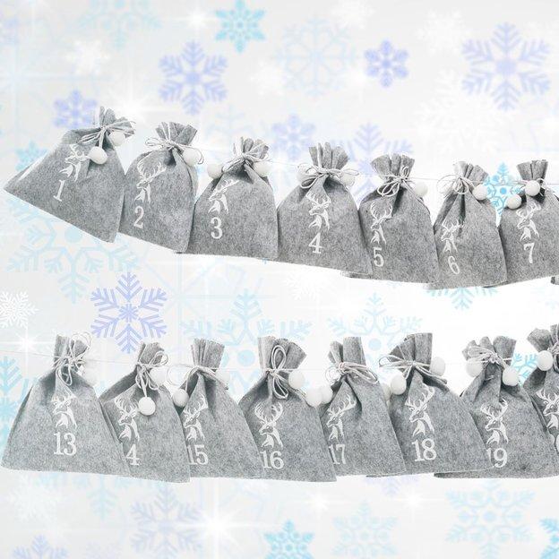 geschenkidee.ch Adventskalender Filz