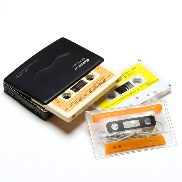 Play!Cassette, étui rétro