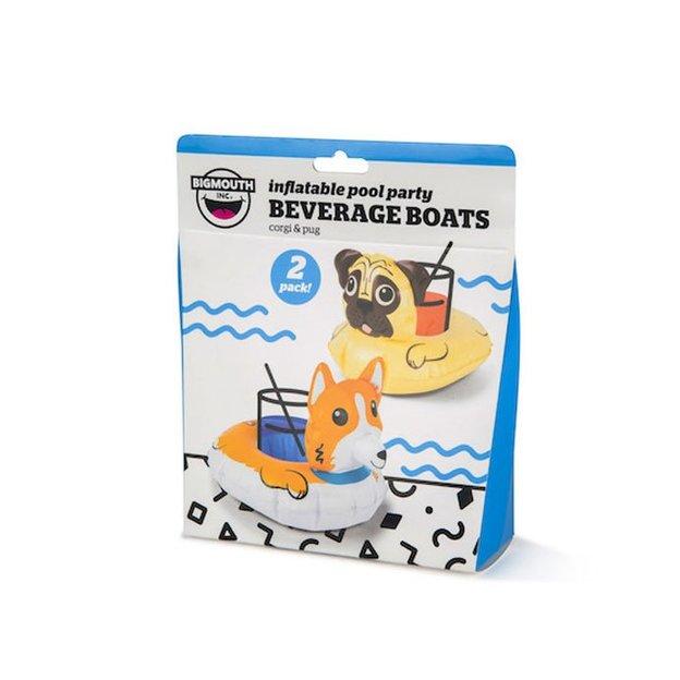 Aufblasbare Getränkehalter Hund