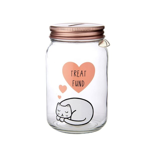 Tirelire Chat Treat Fund