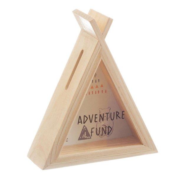 Spardose Tipi Adventure Fund