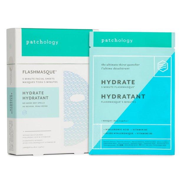 Masques hydratants visage FlashMasque Hydrate patchology