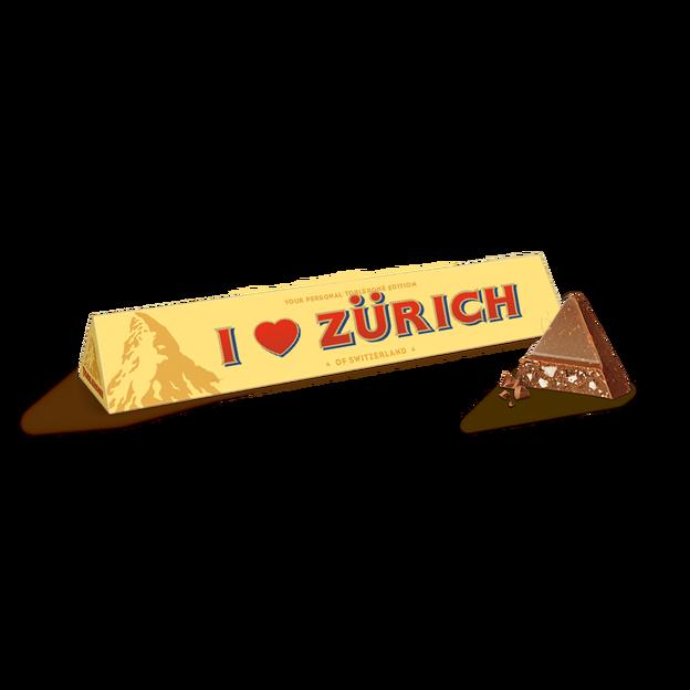 """TOBLERONE """"I ❤️ Zürich"""" (360g)"""