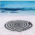 Serviette de plage Black Illusion