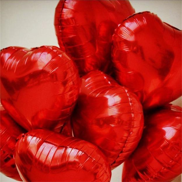 Ballons Cœurs, 30 pièces