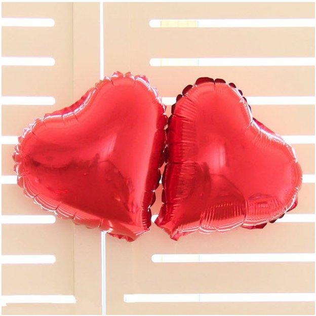 Ballons Love et cœurs
