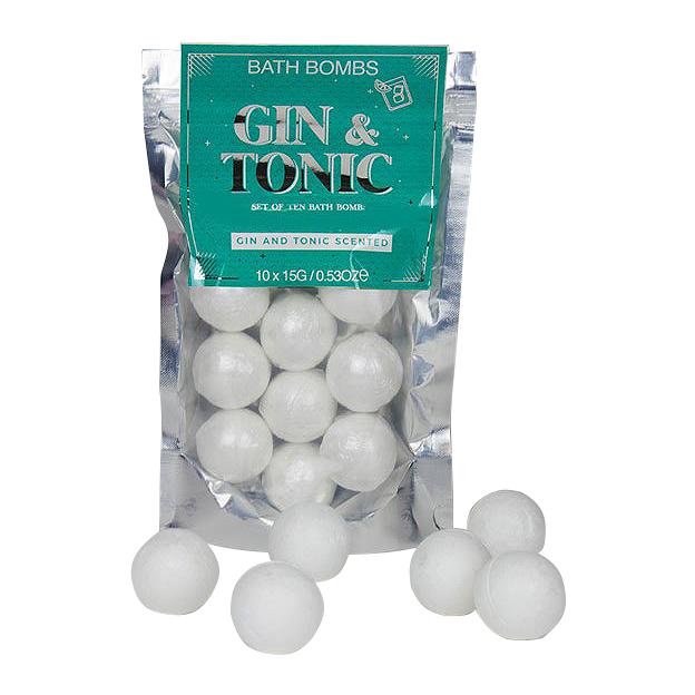 Bombes de bain Gin & Tonic