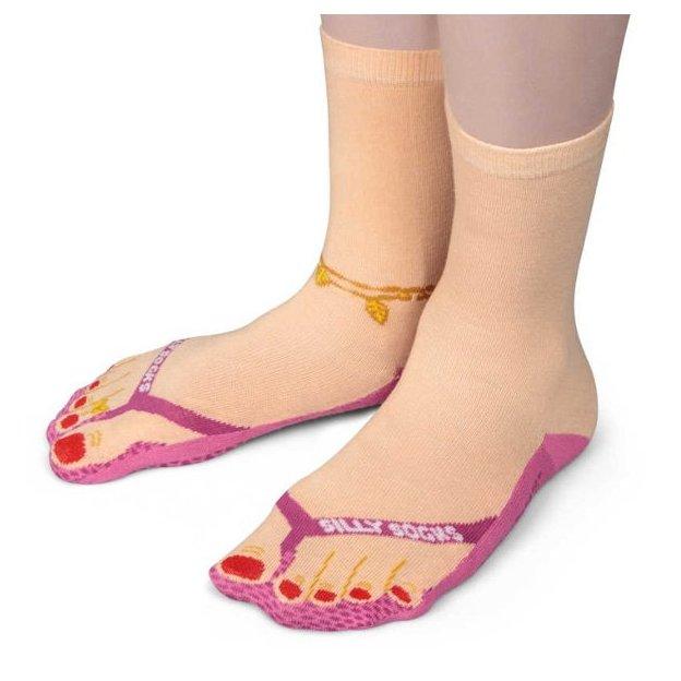 Silly Socks Socken Flip Flop