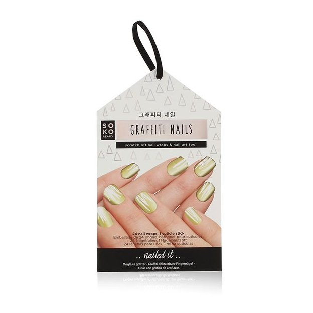 Fingernagel Aufkleber Graffiti Nails
