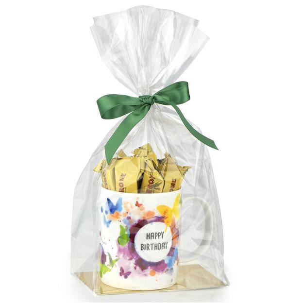 """Geschenkset """"Tasse Happy Birthday"""" Toblerone"""