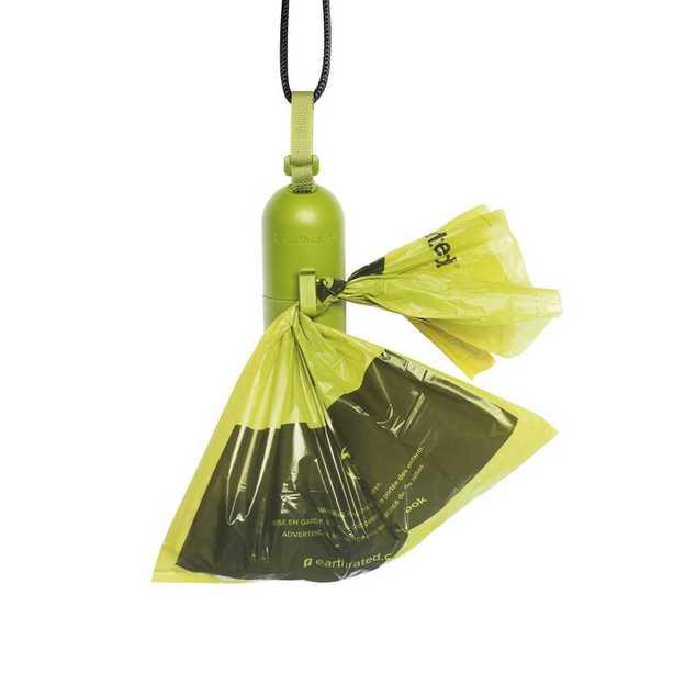 Distributeur de sacs à excréments à la lavande, 15 pièces
