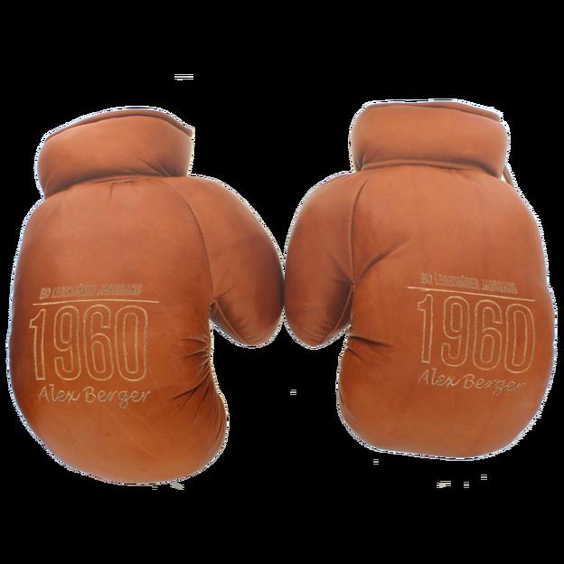 Gants de boxe rétro en cuir personnalisés