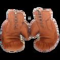 Personalisierbare Retro-Boxhandschuhe aus Leder