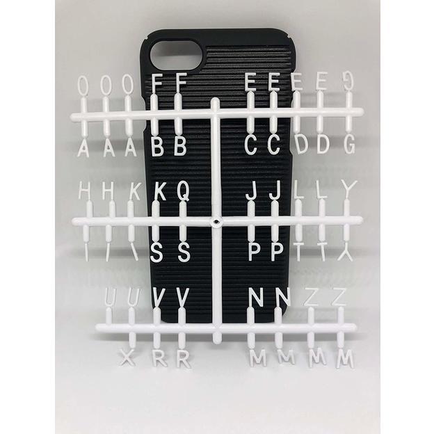Lettercase Handyhülle iPhone 7 und 8 selbst gestalten
