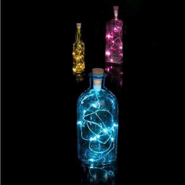 Flaschenlicht Lichterkette Multicolor